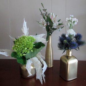 Lil Gold Vase