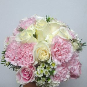 Vintage Pink Bridal Bouquet