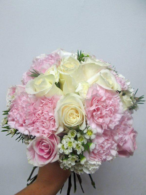 Vintage Pink Bridal Bouquet